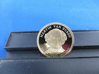 2008-S MARTIN VAN BUREN ONE ROLL OF 20 DOLLAR COINS DEEP CAMEO MIRROR PROOF