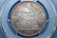 1883 SEATED LIBERTY HALF DOLLAR   TOTAL MINTAGE 8,000 COINS