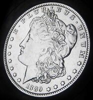 1889 O MORGAN SILVER DOLLAR   ALMOST UNCIRCULATED   FAST COIN SHIPPING