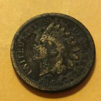 1864 INDIAN HEAD CENT  G349