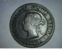 1876 1912 1915 CANADA LARGE CENT 3 COINS 160611 GI