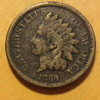 1860 INDIAN HEAD CENT  G423