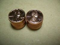 ROLL OF 40 1968 S & 1969 S LINCOLN MEMOIRAL PROOF CENTS