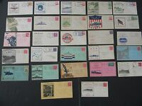 27 WORLD WAR TWO VINTAGE POSTAL NAVAL COVERS INCLUDING FIRST TORPEDOED USS KEARN