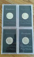 SILVER PROOF EISENHOWER IKE DOLLAR LOT 1971S 1972S 1973S 1974S