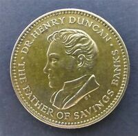 DR. HENRY DUNCAN   THE FATHER OF SAVINGS BANKS 1960 COMMEMORATIVE TOKEN