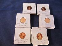 30 COINS 2000 2001 2002 2003 2004 2006 S LINCOLN CENT DEEP CAMEO MIRROR PROOF