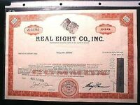 1715 FLEET / REAL EIGHT COMPANY 100 SHARES COMMON STOCK ISSUED AUG 20 1970