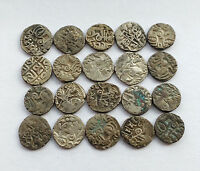 EIGHTEENTH CENTURY SILK ROAD COINS ANCIENT KHANATE OF KOKAND SILVER COINS.