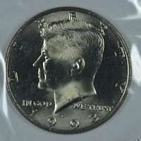 1993 D KENNEDY HALF DOLLAR IN MINT CELLO  SEE STORE FOR DISCOUNTS  RD27