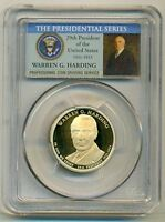 2014 S WARREN G HARDING PRESIDENTIAL DOLLAR PROOF PR70 DCAM PCGS PORTRAIT LABEL
