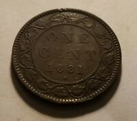 1881 LARGE CENT CANADA