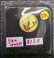 CHINA 2015 GOLD PROOF 20 YUAN SEALED 1/20TH OF AN OUNCE