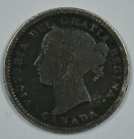 1900 CANADA 10 CENT SILVER COIN SHIPS FREE