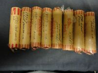 WHEAT PENNIES FROM THE 1930'S  1 ROLL CIRCULATED MIXED