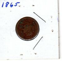 1865 US INDIAN HEAD PENNY