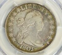 1805 DRAPED BUST HALF DOLLAR PCGS VF30 $0.50 AWESOME COIN