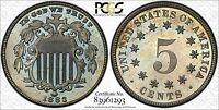 1883 SHIELD NICKEL 5 CENTS PROOF - PCGS PR64 - GREAT LOOKING COIN