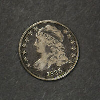 1835 CAPPED BUST DIME     LOT 2