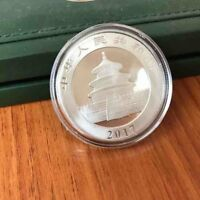 2017 YEAR SILVER CHINA CHINESE PANDA COIN 30 GRAMS