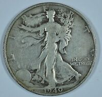 1940 S WALKING LIBERTY SILVER HALF DOLLAR SEE STORE FOR DISCOUNTS OR41