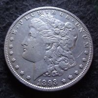 1893-O MORGAN SILVER DOLLAR - CHOICE VF DETAILS KEY FROM THE NEW ORLEANS MINT