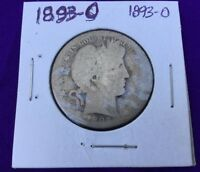 1893 O BARBER HALF DOLLAR SILVER FOR YOUR COLLECTION CHEAP PRICING BUY IT NOW