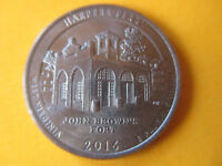 2016 P NP ATB NATIONAL PARK 25C QUARTER HARPERS FERRY BU UNCIRCULATED