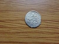 AUTHENTIC OTTOMAN SILVER COIN 1 PARA 1115 AH AHMED III 1703 1730 AD.