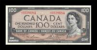 1954 BANK OF CANADA QEII $100   LAWSON & BOUEY      GEM UNC