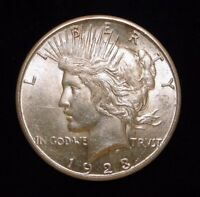1923 S PEACE SILVER DOLLAR  OLD U.S. TYPE COIN