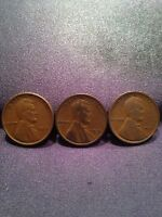 1918 1919 1920 1C BN LINCOLN WHEAT CENTS CIRCULATED G/VG/F DETAILS MULTIPLE SETS