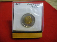 2011  CANADA 2$ TWO  DOLLAR  COIN  TOONIE  SEE PHOTOS  11  PROOF LIKE  SEALED