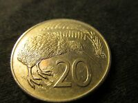 COIN NEW ZEALAND 20 CENTS 1982