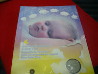 2006 STERLING SILVER DOLLAR BABY'S LULLABIES CD AND SILVER COIN   COIN