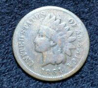 1864 L INDIAN HEAD CENT PENNY OLD COPPER US COIN