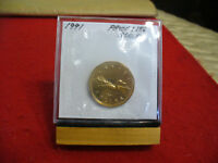1991  CANADA  DOLLAR  COIN  LOONIE TOP GRADE  SEE PHOTOS  91  PROOFLIKE  SEALED