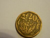 1993 SOUTH AFRICA 20 CENTS   LOT 1343