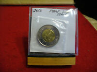 2016  CANADA 2$ TWO  DOLLAR  COIN  TOONIE SEE PHOTOS  16  PROOF LIKE  SEALED