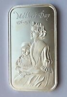MOTHER'S DAY 1776 1976 1 OZ 999 FINE SILVER BAR MADISON MINT