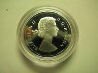 2004 PROOF 50 CENTS HISTORICAL EFFIGIES COAT OF ARMS 1 1953 LAUREATE CANADA FIF