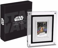 2017 STAR WARS EMPIRE STRIKES BACK POSTER COIN   1 OZ. SILVE