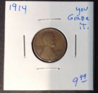 1914 1C LINCOLN CENT