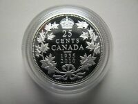 1935 2010 25 CENTS QUARTER FROM LTD ED PROOF SET 75TH ANN VOYAGEUR DOLLAR CANADA