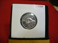 1970  CANADA  1  NICKEL 5 CENTS  COIN  PROOF LIKE SEALED   HIGH  GRADE