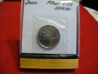 2000  CANADA   QUARTER  DOLLAR   SEALED HIGH  GRADE  00  COIN   PROOF LIKE