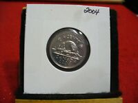 2004  CANADA 5 CENT COIN  NICKEL  PROOF LIKE    04   HIGH  GRADE  SEALED