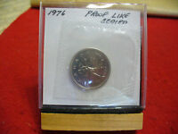 1976 CANADA QUARTER  DOLLAR TOP GRADE  25 CENT PIECE  76  PROOFLIKE  SEALED