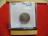 1993 CANADA QUARTER  DOLLAR TOP GRADE  25 CENT PIECE  93  PROOFLIKE  SEALED