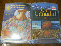 LOT OF 2 SETS 2001 TINY TREASURES AND  OH  CANADA  SEALED HIGH GRADE  SEE PHOTOS